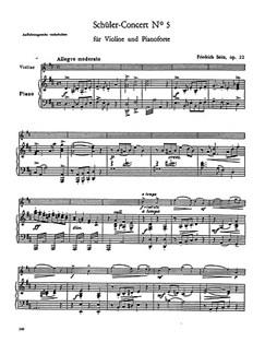 Friedrich Seitz: Concerto Op. 22 Books | Violin, Orchestra