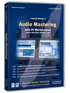 Friedemann Tischmeyer: Audio Mastering - Tutorial DVD Volume 2 (Mac/PC) DVDs / Videos |