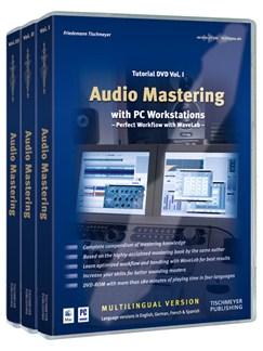 Friedemann Tischmeyer: Audio Mastering - Tutorial DVD Volumes 1-3 (Mac/PC) DVDs / Videos |