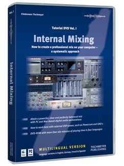Friedemann Tischmeyer: Internal Mixing (Tutorial DVD Volume 1) DVDs / Videos |