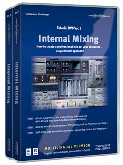 Friedemann Tischmeyer: Internal Mixing (Tutorial DVD Volumes 1- 2) DVDs / Videos |