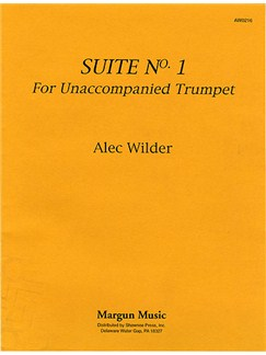 Wilder: Suite No.1 For Unaccompanied Trumpet Books | Trumpet