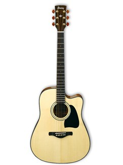 Ibanez: AW3000CE Artwood Electro-Acoustic Guitar - Natural Instruments | Electro-Acoustic Guitar
