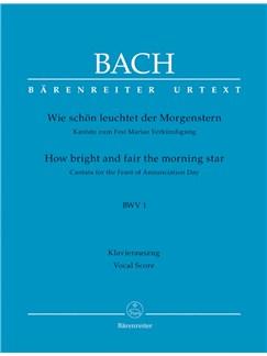 J. S.Bach: Cantata No. 1 - BWV 1 (Vocal Score) Books | Choral, Orchestra