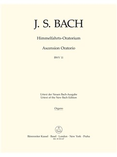 J.S. Bach: Ascension Oratorio (Laud To God In All His Kingdoms) (BWV 11) (Organ) Books | Choral