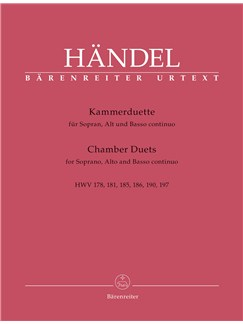 Chambers Duets For Soprano, Alto And Basso Continuo Books | Alto, Soprano