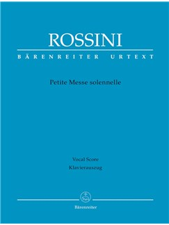G. Rossini: Petite Messe Solennelle (Vocal Score) Books | Choral, SATB, Piano Accompaniment
