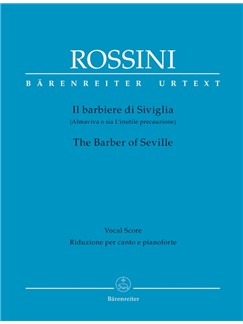 G. Rossini: The Barber Of Seville - Il Barbiere Di Siviglia (Vocal Score, Hardback) Books | Opera