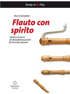 Moni Schönfelder: Flauto Con Spirito Books | Recorder Ensemble (Right-Hand Melody)