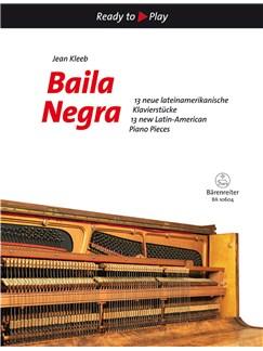 Jean Kleeb: Baila Negra Books | Piano