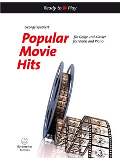 Popular Movie Hits Books | Violin, Piano Accompaniment