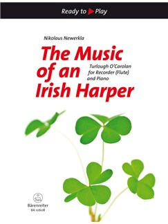 Turlough O'Carolan: The Music Of An Irish Harper (Selection) Books | Soprano (Descant) Recorder or Alto (Treble) Recorder, Piano Accompaniment