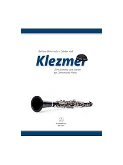 Bettina Ostermeiier: Klezmer For Clarinet And Piano Books | Piano, Clarinet