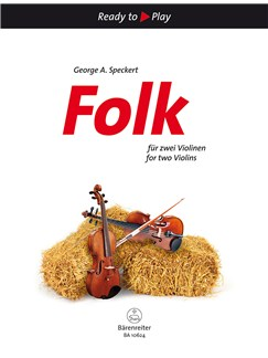 Folk For Two Violins Books | Violin (Duet)