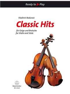 Classic Hits For Violin And Viola Books | Violin, Viola