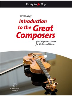Introduction To The Great Composers: 15 Easy Pieces (Violin And Piano) Books | Violin, Piano Accompaniment