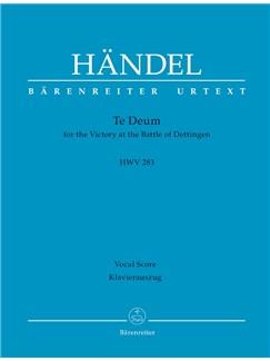 G. F. Handel: Dettinger Te Deum - HWV 283 (Vocal Score) Bog | Orkester