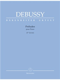 Claude Debussy: Preludes Book 1 For Piano Books | Piano