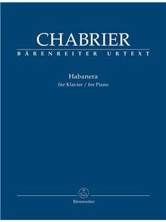 Emanuel Chabrier: Habanera (Urtext) Books | Piano