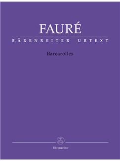 Gabriel Faure: Barcarolles - Piano Solo Books | Piano