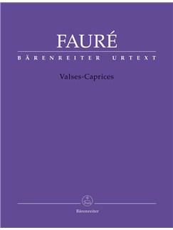 Gabriel Faure: Valses-Caprices - Piano Solo Books | Piano