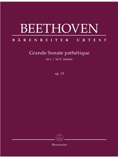 Ludwig Van Beethoven: Sonata In C Minor Op.13 (Grande Sonate Pathetique) (Urtext) Libro | Piano