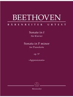 Piano Sonata In F Minor, Op.57 (Appassionata) Books | Piano
