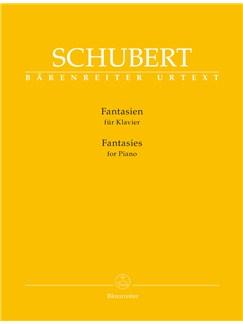 Franz Schubert: Fantasies For Piano Books | Piano