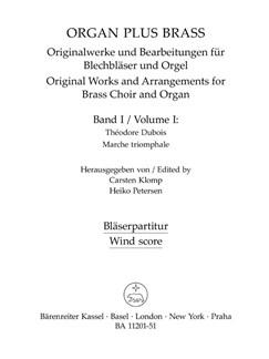 Organ Plus Brass: Volume 1 (Wind Score) Books | Brass Ensemble, Organ