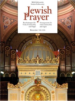 Jewish Prayer: Arrangements For Viola (Cello) And Organ Books | Cello, Organ, Viola