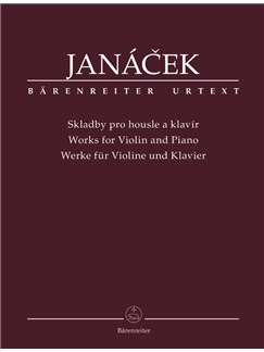 L. Janacek: Works For Violin And Piano Books | Violin, Piano Accompaniment