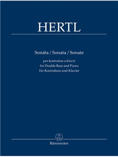 F. Hertl: Sonata For Double Bass And Piano Books | Double Bass, Piano Accompaniment