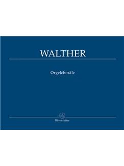J. G. Walther: Organ Chorales Libro | Órgano