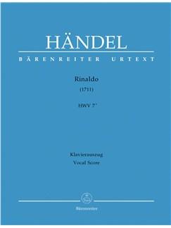G.F. Handel: Rinaldo (1711) HWV 7a (Vocal Score) Books | Opera