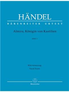Georg Friedrich Händel: Almira, Königin Von Kastilien HWV 1 (Vocal Score) Books | Soprano, SATB, Piano Accompaniment