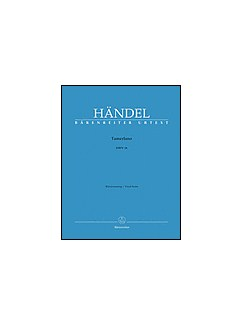 G.F. Handel: Tamerlano HWV 40 (Vocal Score) Books | Opera