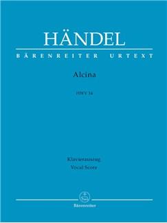 G. F. Handel: Alcina HWV 34 (Vocal Score) Books | Opera, Choral