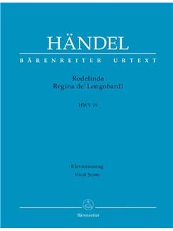 G.F. Handel: Rodelinda, Regina de' Longobardi HWV 19 (Full Score, hardback) Books | Opera