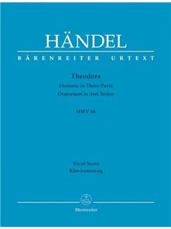 G. F. Handel: Theodora HWV 68 (Vocal Score) Libro | Orquesta