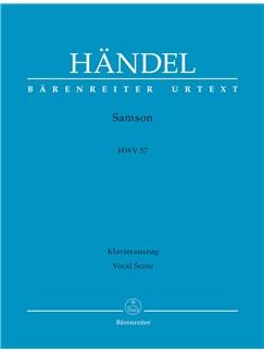 G.F. Handel: Samson HWV 57 (English) (Urtext) Books | Soprano, Tenor, SATB