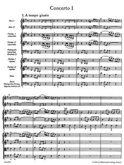 G. F. Handel: Concerto Grosso In G Major Op.6 No.1 (Full Score) Books | Violin, Viola, Oboe, Bassoon, Continuo, Cello
