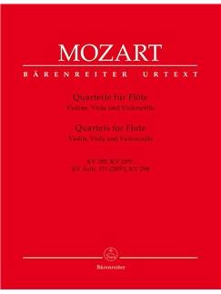 Wolfgang Amadeus Mozart: Flute Quartets (4) (K.285, 285a, 285b, 298) (Urtext). Books | Chamber Group