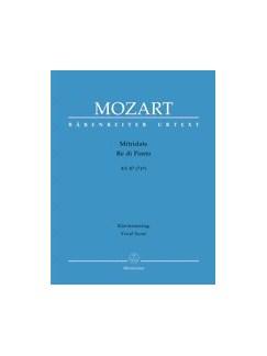W.A. Mozart: Mitridate Re Di Ponto KV.87 Books | 4 Soprano Solo, Alto Solo, 2 Tenor Solo, Piano Accompaniment