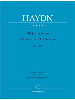 J. Haydn: The Seasons Hob.XXI:3 (Vocal Score) Books | Choral, Orchestra