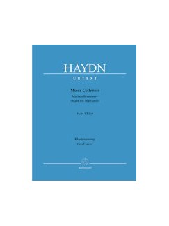 Joseph Haydn: Missa Cellensis - Mass for Mariazell Hob.XXII:8 (Barenreiter Urtext Vocal Score) Books | Soprano, Alto, Tenor, Bass Voice, SATB, Piano Accompaniment