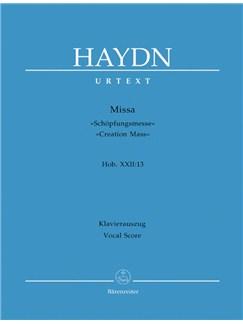 J. Haydn: Creation Mass In B Flat Hob.XXII (Vocal Score) Books | Choral