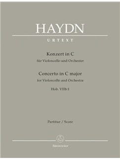 J. Haydn: Cello Concerto No.1 In C Hob.VIIb (Full Score) Books | Cello, Orchestra