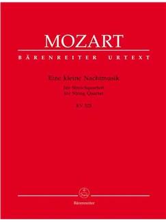 Wolfgang Amadeus Mozart: Eine kleine Nachtmusik (K.525) (Urtext). Books | String Quartet