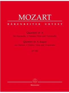 Wolfgang Amadeus Mozart: Clarinet Quintet in A (K.581) (Urtext). Books   Chamber Group