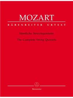 Wolfgang Amadeus Mozart: String Quintets (6) (K.174, 406, 515, 516, 593, 614) (Urtext). Libro | Conjunto de Cuerda